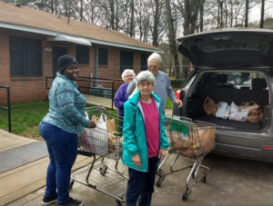 Feb. 2020 Delivery to Food Pantry
