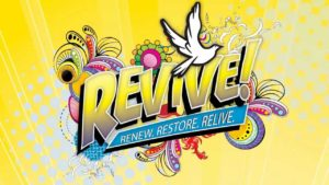 Revive! Renew, restore, Relive Banner
